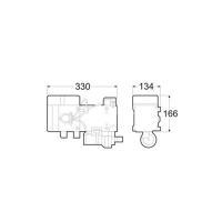 Габаритные размеры Hydronic D10W дизель (24 В)