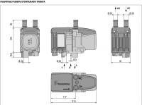 Габаритные размеры подогревателя Hydronic S3
