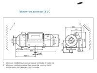 Габаритные размеры Airtronic D8 L C