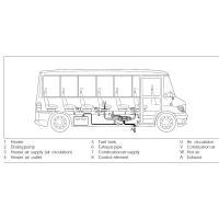 Схема установки Airtronic D8 L C на автобус