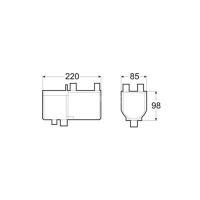 Габаритные размеры Hydronic 5 B5W S бензин (12 В)