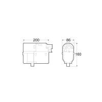 Габаритные размеры Hydronic 5 D5W SC дизель (12 В)
