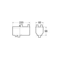 Hydronic 4 D4W S дизель (12 В) габаритные размеры