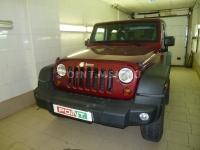 Установка WEBASTO на Jeep Wrangler
