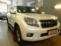 Установка сигнализации Pandora DXL 4400 на автомобиль Toyota Land Cruiser Prado 150