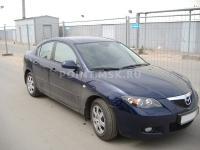 Тонирование автомобиля Mazda 3 пленкой Infinity 10