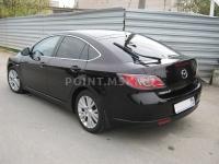 Евротонирование автомобиля Mazda 6 пленкой SanTek HP 15