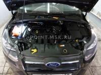 Установка жидкостного подогревателя Eberspacher на автомобиль Ford Focus III
