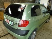 Тонировка стекол Hyundai Getz пленкой SunTek HP