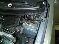 Установка жидкостного подогревателя Eberspacher на автомобиль Nissan X-Trail