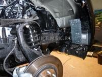 Установка жидкостного подогревателя Webasto на автомобиль Nissan Pathfinder