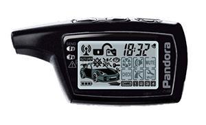 Брелок Pandora LCD D0745 black (для 3055, Х-2000)