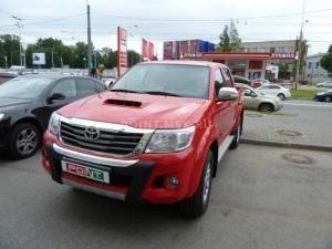 Установка подогревателя Webasto на Toyota Hilux.