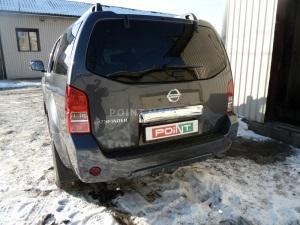 Установка Eberspacher на Nissan Pathfinder