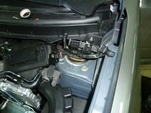 Установка подогревателя Eberspacher на Nissan X-Trail