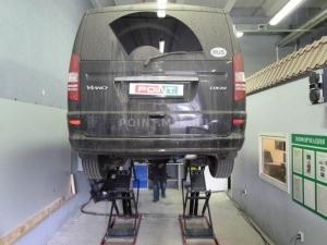 Установка подогревателя Webasto на Mercedes-Benz Viano