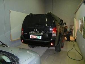 Установка подогревателя Webasto на Nissan Pathfinder