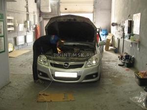 Установка Webasto на Opel Vectra