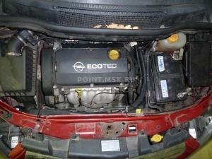 Установка подогревателя Webasto на Opel Zafira