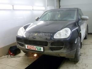 Установка подогревателя Webasto на Porsche Cayenne