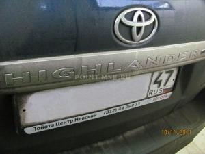Установка Webasto на Toyota Highlander
