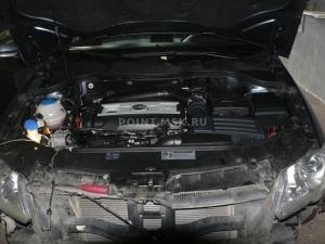 Установка Webasto на VW Passat B6