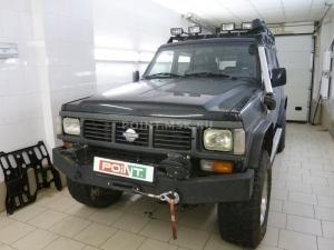 Установка подогревателя Webasto Thermo Top C на Nissan Patrol