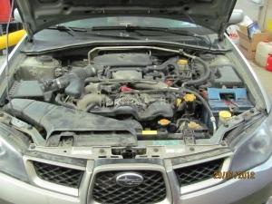 Установка подогревателя Defa на Subaru Impreza