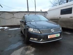 Установка Webasto на VW Passat B7