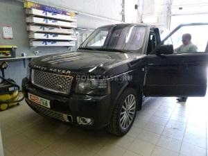Тонирование стекол Range Rover пленками SunTek HP 5 и HP 15