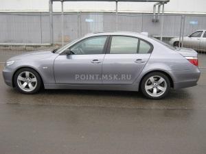 Тонирование стекол BMW 5 series (E60) пленкой Infinity 10