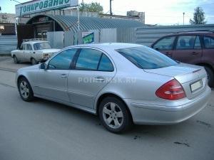 Тонирование стекол Mercedes-Benz W211 пленкой Infinity 20