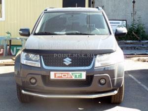 Установка штатной магнитолы NaviPilot и камеры заднего вида CA-LP-1BA на Suzuki Grant Vitara