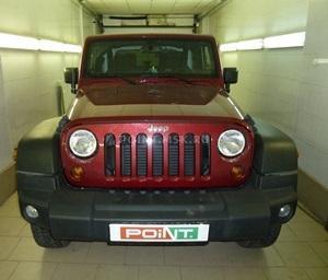 Установка подогревателя WEBASTO на Jeep Wrangler