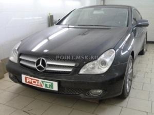 Тонирование стекол Mercedes-Benz CLS пленкой Infiniti 10