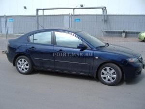Тонирование стекол Mazda 3 пленкой Infinity 10
