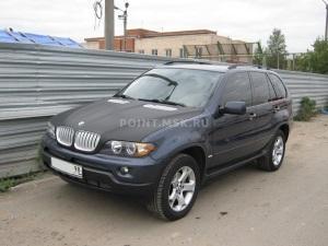 Тонирование BMW X5 пленкой SunTek HP 5