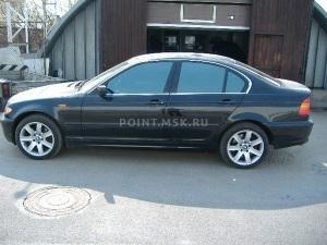 Тонирование стекол BMW 3 series (E46) пленкой Infinity 10