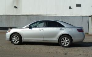 Тонировка стекол Toyota Camry silber пленкой SunTek HP 15