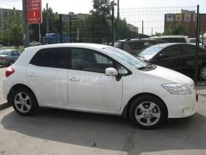 Тонирование стекол Toyota Auris пленкой SunTek HP 5