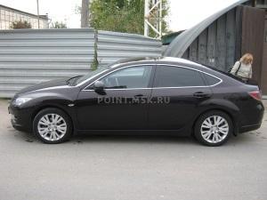 Тонирование стекол Mazda 6 пленкой SunTek HP 15