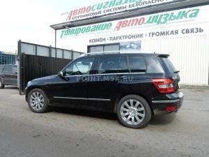 Тонировка стекол Mercedes GLK 300 пленкой SunTek HP 15
